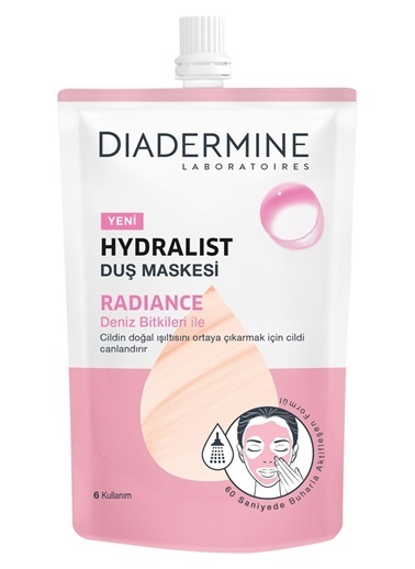 Diadermine Diadermine Hydralist Radiance Duş Maskesi 50 Ml Renksiz